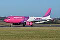 Airbus A320-232 'HA-LWC' Wizzair (12180690594).jpg