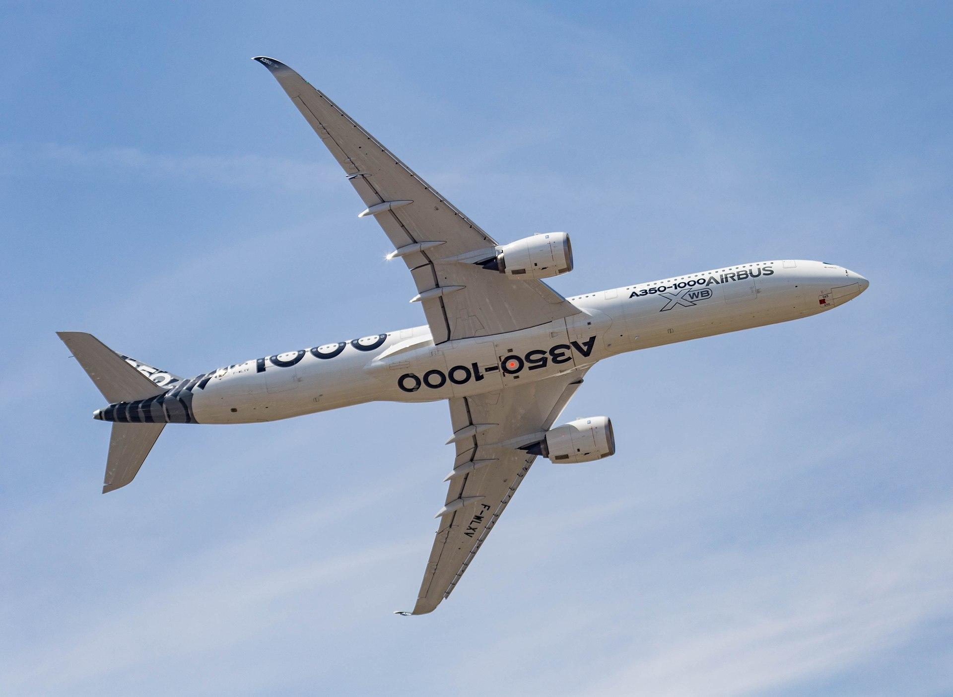 Airbus A350-1000 Visits Manila