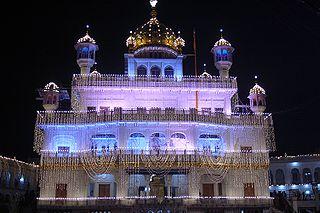 Guru Nanak Gurpurab Sikh festival