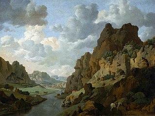 Krajobraz skalisty