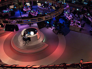Newshour (Al Jazeera) - Al Jazeera English main newsroom, Doha