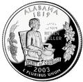 Alabama quarter, reverse side, 2003.png