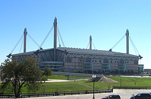 San Antonio Spurs - The Alamodome, home to the Spurs from 1993 to 2002.