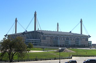 2008 NCAA Division I Men's Basketball Tournament - The Alamodome, location of the Final Four on April 5th