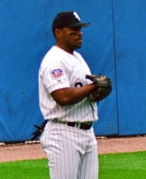 Albert Belle - Belle with the Chicago White Sox in 1997