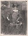 Albert de Belleroche - Untitled (Woman) - 2016.100 - Cleveland Museum of Art.jpg