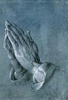 ¿Que es la oración y como involucra la Fé? 220px-Albrecht_D%C3%BCrer_Betende_H%C3%A4nde