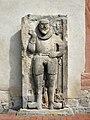 Albungen im nordhessischen Werra-Meißner-Kreis - Grabplatte an der evangelischen Kirche.jpg