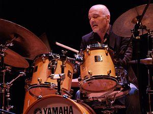 1941 in jazz - Aldo Romano in 2008