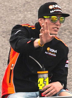 Aleix Espargaró Spanish motorcycle racer