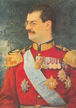 Портрет са слике је насликао Влахо Буковац 1900. године. Портрет се налази у Народном музеју у Београду.