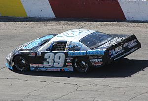 Rockford Speedway - 2013 track champion Alex Papini