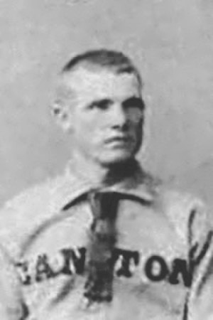 Alexander Donoghue - Donoghue in 1887 with Canton of the Ohio State League