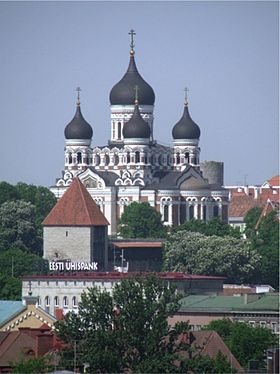 Image illustrative de l'article Cathédrale Alexandre Nevsky (Tallinn)