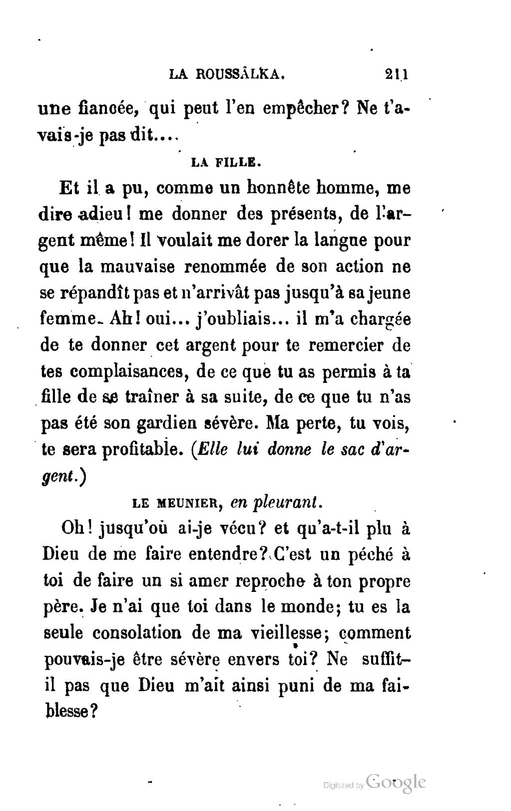 Pagealexandre Pouchkine Poèmes Dramatiques Viardot 1862