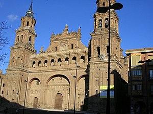 Alfaro, La Rioja - Image: Alfaro Colegiata