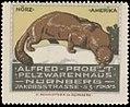 Alfred Probst, Pelzwarenhaus, Nürnberg, Reklamemarke Nörz.jpg