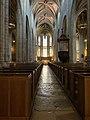 Allée principale Intérieur Cocathédrale Notre-Dame Bourg Bresse 1.jpg