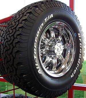 All-terrain tyre