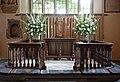 All Saints, Chelsea Old Church, Cheyne Walk, London SW3 - Sanctuary - geograph.org.uk - 1874786.jpg