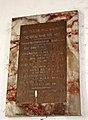 All Saints church in Snetterton - roll of honour - geograph.org.uk - 1762908.jpg
