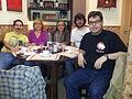 Almuerzo de wikipedistas en Valencia abril de 2014.jpg