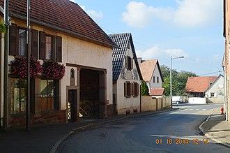 Altenheim - Image: Altenheim Street