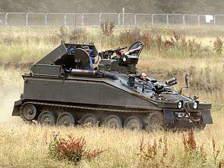 FV102 Striker Anti-tank vehicle