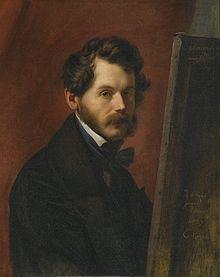 Bildnis des Friedrich von Amerling, 1837 (Quelle: Wikimedia)