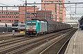 Amersfoort NMBS 2826 E186 218 met de Volvotrein (15602934682).jpg