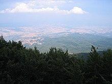 Panorama dal Monte Amiata