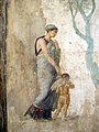 Amore condotto dalla persuasione alla presenza di venere e anteros, da casa dell'amoe punito a pompei, 9257, 02.JPG