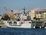 Amphibious assault ship San Giorgio (L 9892) - Harbour of Reggio Calabria - Italy - 28 Sept. 2008 - (1).jpg