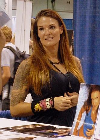 Lita (wrestler) - Lita signing autographs in March 2012
