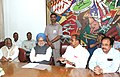 An all party delegation led by the Chief Minister of Andhra Pradesh, Dr. Y.S. Rajasekhara Reddy meets the Prime Minister, Dr. Manmohan Singh on categorization of Scheduled Castes, in New Delhi on May 19, 2006.jpg