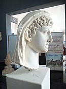 An ancient Roman bust of Cleopatra VII of Ptolemaic Egypt1.jpg
