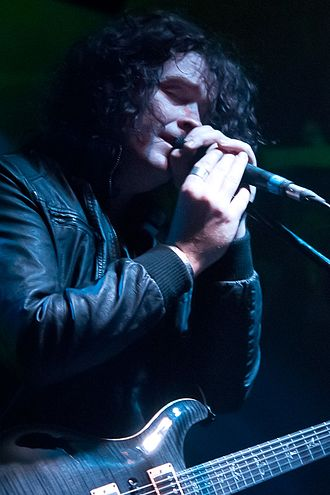 Vincent Cavanagh - Vincent Cavanagh playing live with Anathema in 2012.