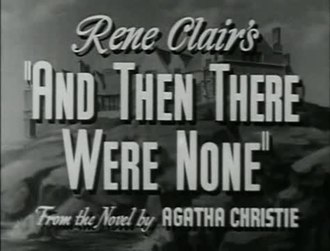 Файл:And Then There Were None (1945).webm
