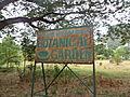 Andhra Loyola College Botanical Garden signboard.JPG
