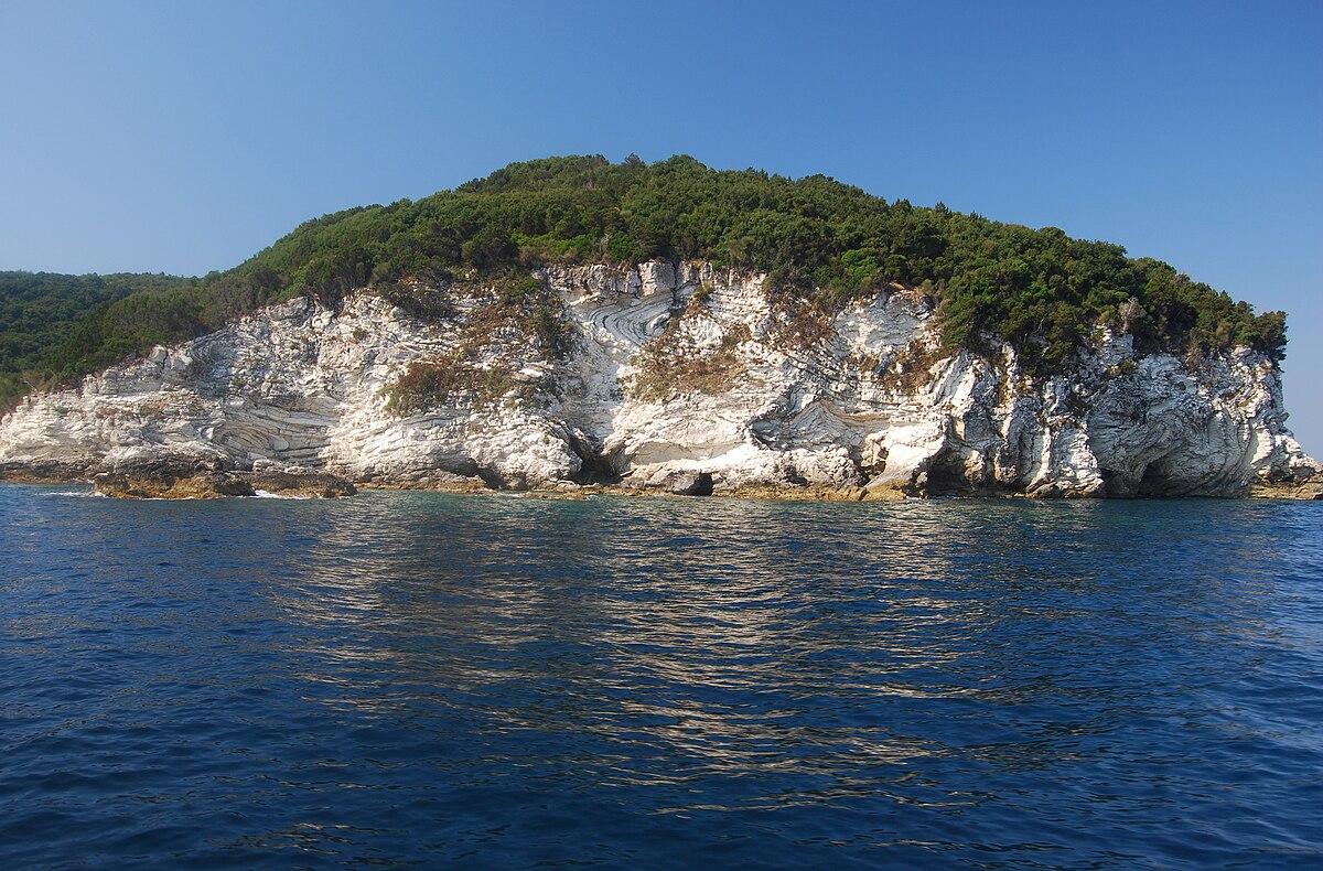картинка фотография курорта Андипакси, остров в Греции