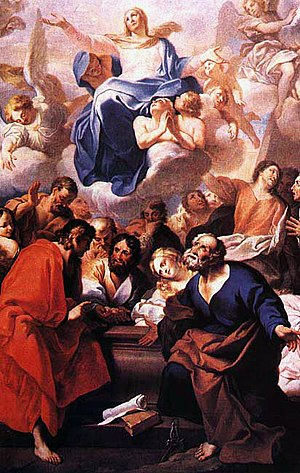 André Gonçalves (painter) - The Assumption  (Mafra National Palace)
