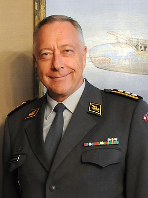 Chief of the Armed Forces - Image: Andre Blattmann July 2015