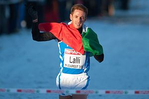 2012 European Cross Country Championships - Andrea Lalli became the first Italian to win the competition.
