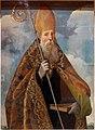 Andrea sabatini da salerno (attr.), santo vescovo, xvi secolo.jpg