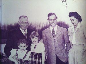 Andrew Rebori - Andrew Rebori - left - with family