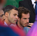 Andy Murray watching Kyle Edmund (19048927840).jpg