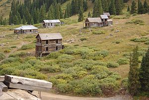 National Register of Historic Places listings in San Juan County, Colorado - Image: Animas Forks CO