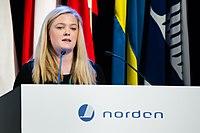 Anna Abrahamsson ved Nordisk Raad session 2015.jpg