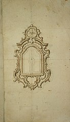 Design for a wall tabernacle