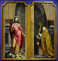 Anoniem - Abt Ghisleen Temmerman van de St-Pietersabdij 1570-1581 en de verrezen Christus - M - Museum Leuven 23-11-2013 16-05-57.JPG